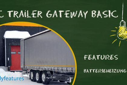 TELEMATICS FOR ALL - Activated battery heating