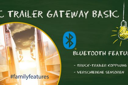 TC Trailer Gateway - Use Case for the bluetooth-function