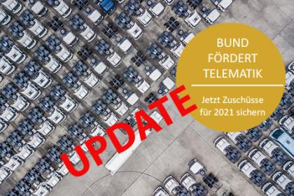 Bund fördert Telematik - UPDATE