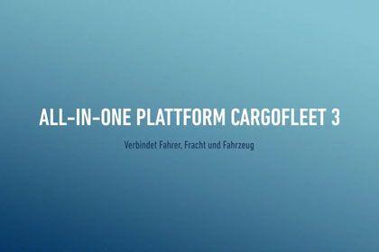 cargofleet 3: All-in-One Plattform