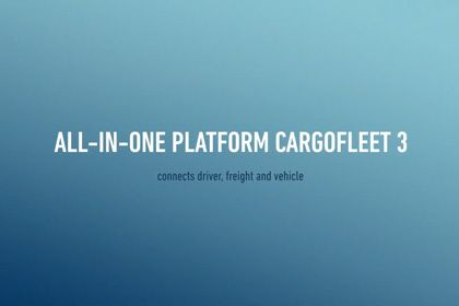 cargofleet 3: All-in-One telematics portal