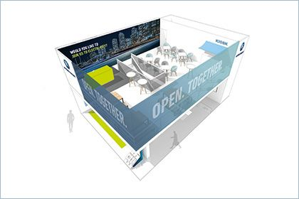 Open.Together: the BPW Group is showcasing itself as a partner for digitisation and networking at 'transport logistic' trade fair